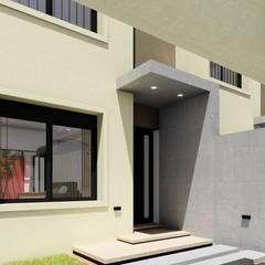 Vivienda en Duplex: Puertas de estilo  por ARBOL Arquitectos ,Moderno