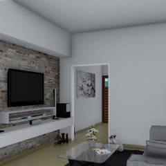 Remodelación y ampliación Vivienda: Livings de estilo  por ARBOL Arquitectos