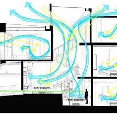 Casas unifamiliares de estilo  por Công ty TNHH TK XD Song Phát