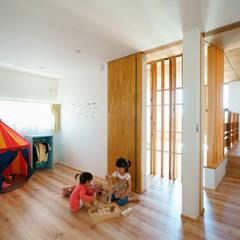子供室: H建築スタジオが手掛けた子供部屋です。