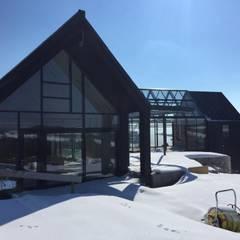 Ecolutionlab:  Landhaus von flatzarchitects