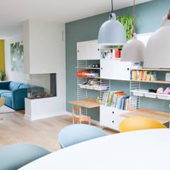 interieurontwerp woning Utrecht Scandinavische woonkamers van Studio Binnen Scandinavisch