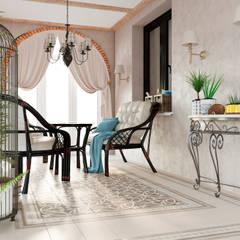 Дизайн дома : Tерраса в . Автор – Дизайн студия Simply House