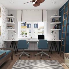minimalistische Kinderkamer door Мастерская дизайна Welcome Studio