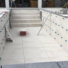 Projekty,  Basen do ogrodu zaprojektowane przez Aquazzura Piscine