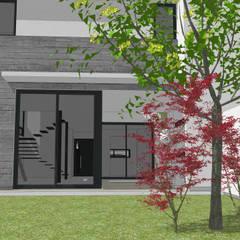 Dos Dulpex en GreenVille 2: Jardines de estilo minimalista por Development Architectural group