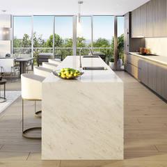EDEN RESIDENCES | Residencial: Salas de estilo  por C | C INTERIOR ARCHITECTURE , Moderno