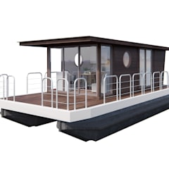 Houseboat : Гостиницы в . Автор – Spacelab Design