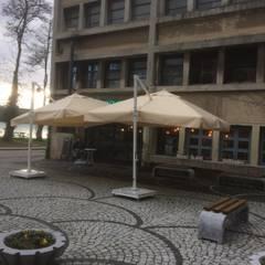 Akaydın şemsiye – BEYKOZ KUNDURA YANDAN GÖVDELİBAHÇE ŞEMSİYESİ: modern tarz Kış Bahçesi