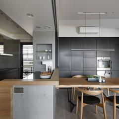 مطبخ تنفيذ 築青室內裝修有限公司 , إسكندينافي