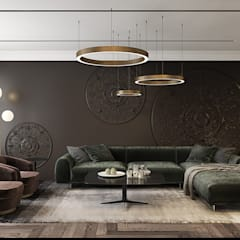 DM: Гостиная в . Автор – U-Style design studio