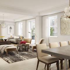 Ruang Keluarga by GD Arredamenti