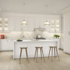 Built-in kitchens توسطGD Arredamenti, کلاسیک چوب Wood effect