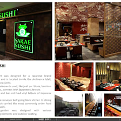 SAKAE SUSHI, New Delhi:  Bars & clubs by amitmurao.com