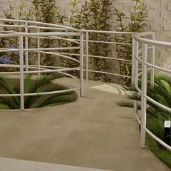 Rampa para Condomínio: Escadas  por SCK Arquitetos