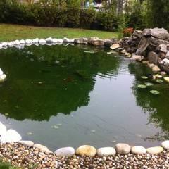 Lago Pedrouços: Jardins  por Viveiros da Boa Nova, Lda