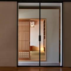 リビングー通り土間ー書斎: tai_tai STUDIOが手掛けた書斎です。