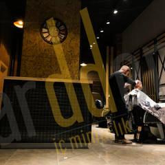 CAB İç Mimarlık / Proje / Tasarım / Uygulama / Danışmanlık  – Ardden İç Mimarlık / Cadde 1071 Hairdresser Projesi : rustik tarz tarz Çalışma Odası