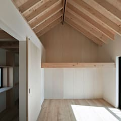 House-Mrn: 伊藤憲吾建築設計事務所が手掛けた子供部屋です。
