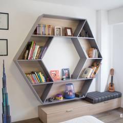 Detalle de Estante: Dormitorios de estilo  por EPG  Studio