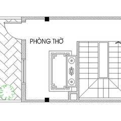 Mẫu Nhà Phố 3 Tầng Sang Trọng Diện Tích 4x15m Tại Bình Tân:  Nhà gia đình by Công ty TNHH Thiết Kế Xây Dựng Song Phát