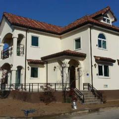대전시 유성구 지족동 주택: (주)건축&건축사사무소예일의  전원 주택