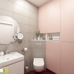 ห้องน้ำ by Мастерская интерьера Юлии Шевелевой