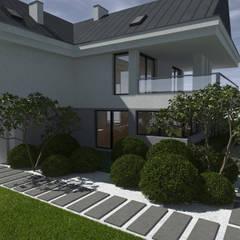 Ogród minimalistyczny: styl , w kategorii Ogród zaprojektowany przez MIA studio