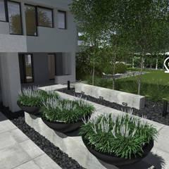 Ogród frontowy: styl , w kategorii Ogród zaprojektowany przez MIA studio
