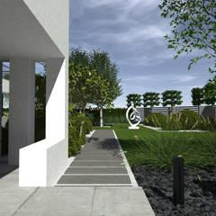 Rzeźba w ogrodzie: styl , w kategorii Ogród zaprojektowany przez MIA studio