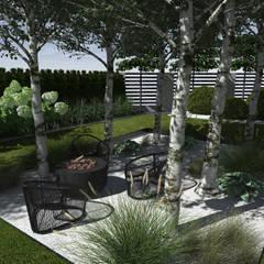 Meble ogrodowe : styl , w kategorii Ogród zaprojektowany przez MIA studio