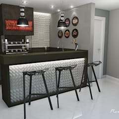 Kitchen units by Rodrigo Westerich - Design de Interiores,