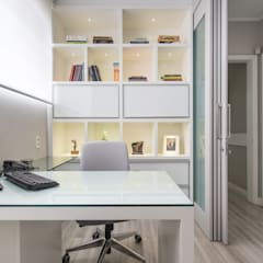 escritório - office: Escritórios  por ABHP ARQUITETURA