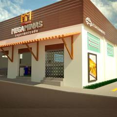Mega Minas: Lojas e imóveis comerciais  por Imaginare Arquitetura e Interiores