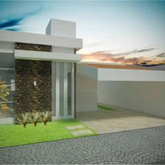 Casa térrea : Casas  por Imaginare Arquitetura e Interiores