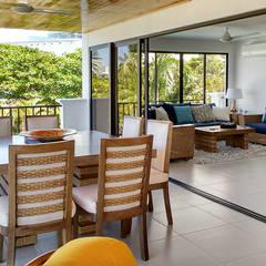 Remodelación de apartamento: Terrazas de estilo  por Remodelar Proyectos Integrales,