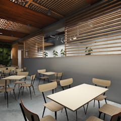 Outdoor Area:  Kantor & toko by ARAT Design