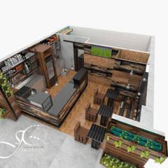 ร้านอาหาร by MAHO arquitectura y diseño, C.A