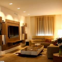Living room by Asun Montoya Estudio Interiorismo