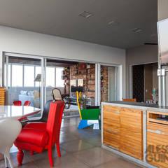 Apto 360: Terraços  por Nautilo Arquitetura & Gerenciamento