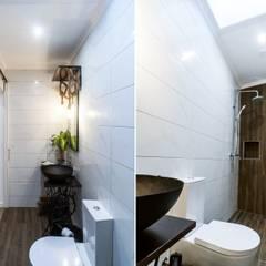 Little Corner @ Silver Coast: Casas de banho  por Dolcenea Design