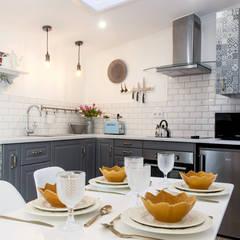 Projekty,  Aneks kuchenny zaprojektowane przez Dolcenea Design