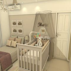 Baby room by AT arquitetos