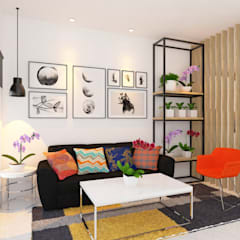 Renovasi Ruang Tamu: Ruang Keluarga oleh Tata Griya Nusantara,