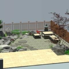 Projekty,  Ogród zen zaprojektowane przez 大地工房景觀公司