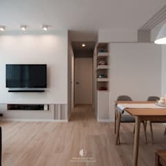 Serenity:  Living room by Mister Glory Ltd, Minimalist