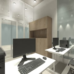 Office Area:  Ruang Kerja by ARAT Design