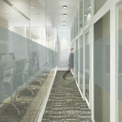 Imran Office: Koridor dan lorong oleh ARAT Design,