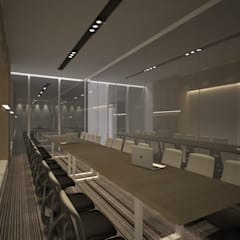 Meeting Room B:  Ruang Kerja by ARAT Design