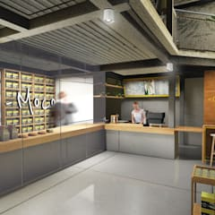 Loco Moco:  Ruang Komersial by ARAT Design